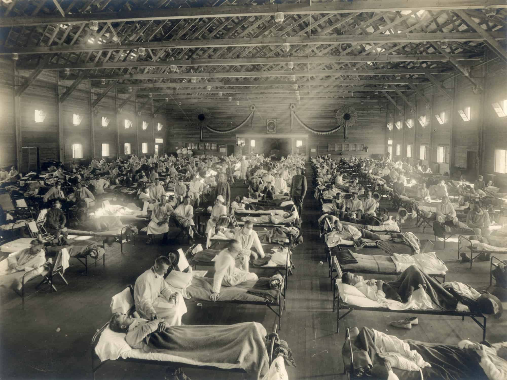 The Spanish Flu of 1918 - featured and header image